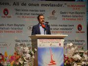 المسلمون الشيعة في مدينة اسطنبول يحتفلون بمناسبة عيد الغدير الأغر