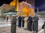 تشرف علمای اهل سنت ترکیه به حرم حضرت علی، امام هادی و امام حسن عسکری(علیهم السلام)