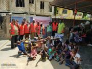 Photos: 'Who is Hussain' team in Mombasa, Kenya serve food packs to homeless on martyrdom anniversary of Lady Fatimah