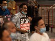 وقفة احتجاجية للمسلمين في ملبورن الاسترالية على قتل الشيعة في باكستان