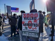 Photos: Protest in front of Pakistani Embassy in Toronto, Canada against ongoing Shia massacre in Pakistan