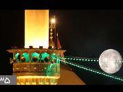 کلیپ حضرت ماه / به مناسبت ولادت حضرت عباس علیه السلام