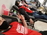 """Photos: """"Who is Hussain?"""" volunteers in Buenos Aires organized 'Blood Donation Campaign' in Muharram"""
