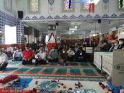 جشن میلاد امام هشتم در مسجد امام رضا(ع) در استانبول